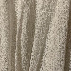 SJP by Sarah Jessica Parker Skirts - XL white lace skirt